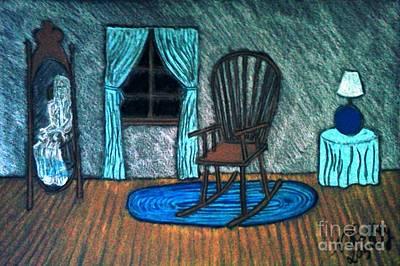 Pastel - The Apparition by Neil Stuart Coffey