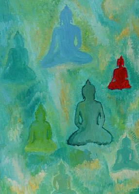Buddhas Appear Art Print