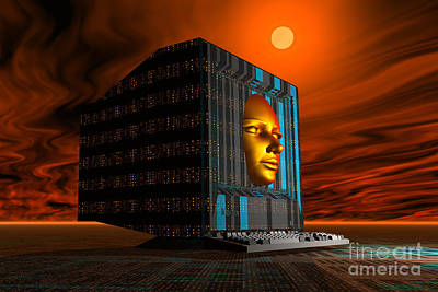 The Appearance Of Mankinds Future Art Print by Mark Stevenson