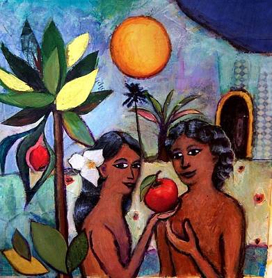 The Apple And Adam And Eve Original