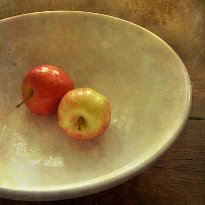 Photograph - The Apple Bowl by Sally Banfill