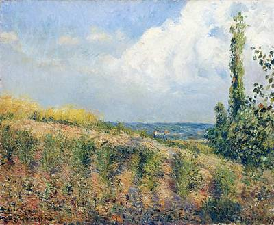 Nice France Painting - The Approaching Storm by Camille Pissarro