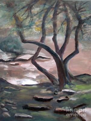 Philadelphia Pa Painting - The Arboretum by Addie Hocynec