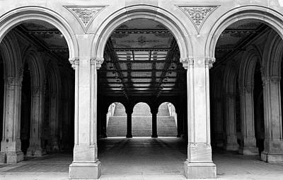 Photograph - The Arcade by Cornelis Verwaal