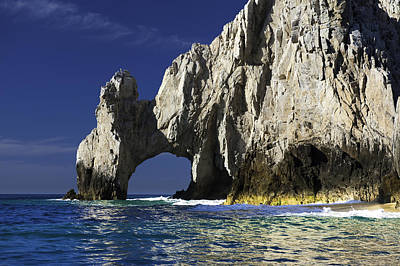 Natural Photograph - The Arch Cabo San Lucas by Sebastian Musial