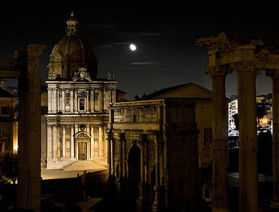 Photograph - The Arch Of Septimius Severus by Weston Westmoreland