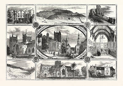 The Archeological Institute Of Great Britain And Ireland Art Print by Irish School