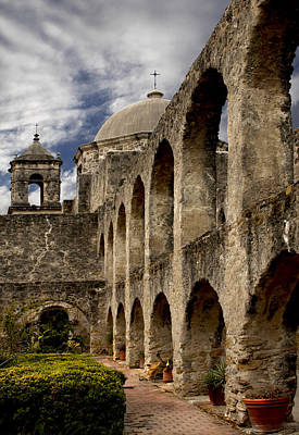Photograph - The Arches Of San Jose  by David and Carol Kelly
