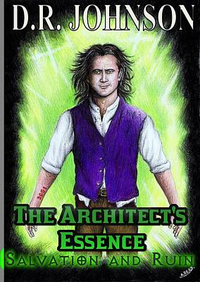 Book Covers Drawing - The Architects Essence by Andrew Read