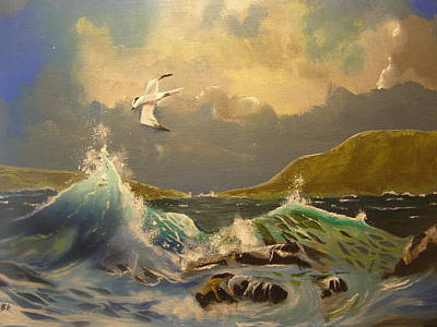 Painting - The Arctic Tern by Eric Burgess-Ray