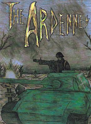 The Ardennes Art Print