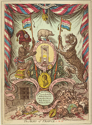 The Arms Of France Art Print by British Library