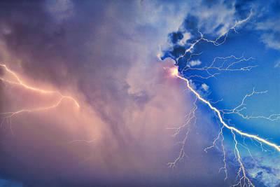Zeus Photograph - The Arrival Of Zeus by Jonathan Davison