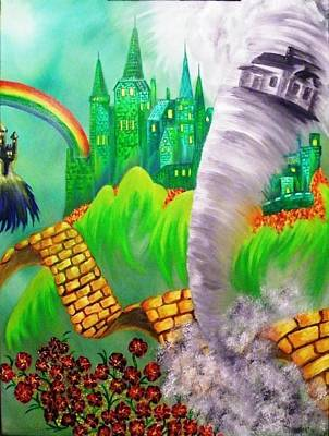 Painting - The Arrival Revisited by The GYPSY And DEBBIE
