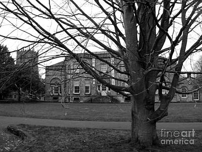 Photograph - The Art Gallery At Kirkland Kendal B W by Joan-Violet Stretch