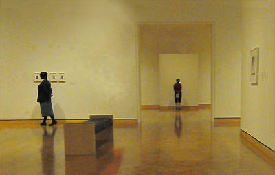 Photograph - The Art Gallery by Michael Moschogianis