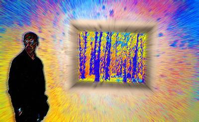 The Art Gallery - Woodstock New York Art Print