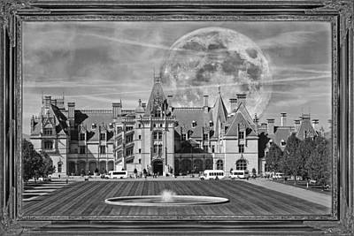 Full Moon Mixed Media - The Art Of Biltmore by Betsy Knapp