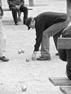 Photograph - The Art Of Boules  by Suzanne Oesterling