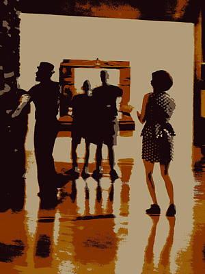 The Art Of Dance Art Print by Randall Weidner