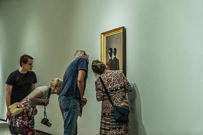 Rotterdam Photograph - The Art Of Enjoying Art by Susanne Stoop