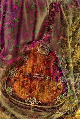 The Art Of Music Art Print by Steven Lebron Langston