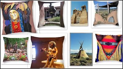 The Art Of New Mexico Art Print by Dora Sofia Caputo Photographic Art and Design