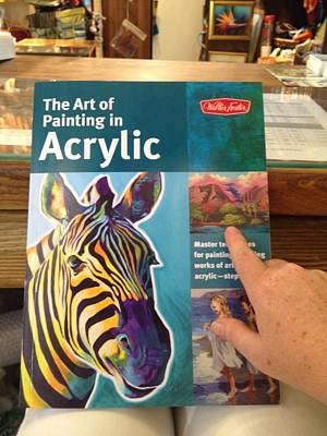 Painting - The Art Of Painting In Acrylic by Darice Machel McGuire
