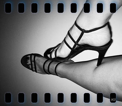 Stillettos Photograph - The Art Of Stilettos by Absinthe Art By Michelle LeAnn Scott