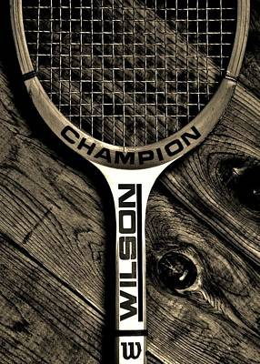 Sports Royalty-Free and Rights-Managed Images - The Art of Tennis 2 by Benjamin Yeager