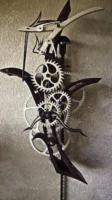 The Art Of Time  Original by Carolyn Marchetti
