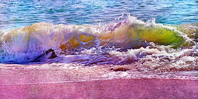Lyrical Photograph - The Art Of Waving by Betsy Knapp