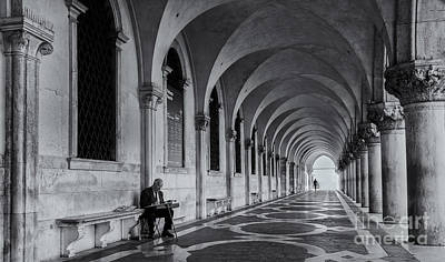 Artist Working Photograph - The Artist by Andrea Jones