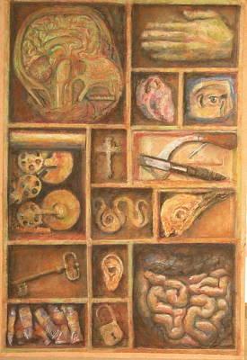 The Artist Cabinet Art Print by Paez  Antonio