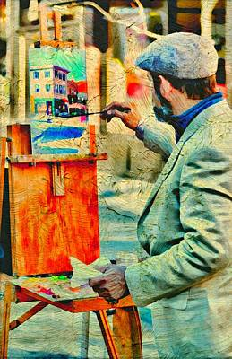 Of Painter Photograph - The Artist by Diana Angstadt