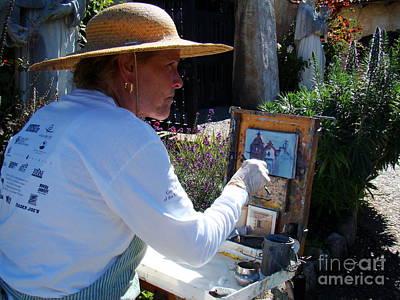 Artist Working Photograph - The Artist by Eva Kato