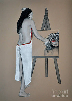 Painting - The Artist by Joe Dragt
