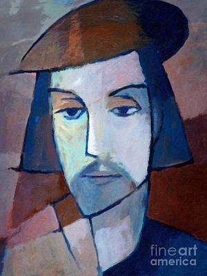 Painting - The Artist by Lutz Baar