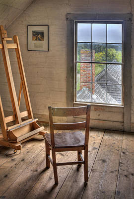 Photograph - The Artist Studio by Mikael Carstanjen