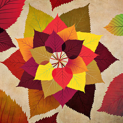 Digital Art - The Artistry Of Fall by Angelina Tamez