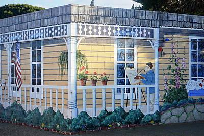 Photograph - The Artists Cottage by AJ  Schibig