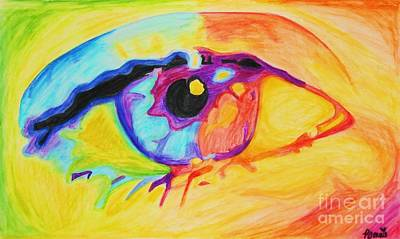Painting - The Artist's Eye by Bonnie Cushman