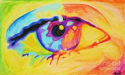 Painting - The Artist's Eye by Bonnie Cushman