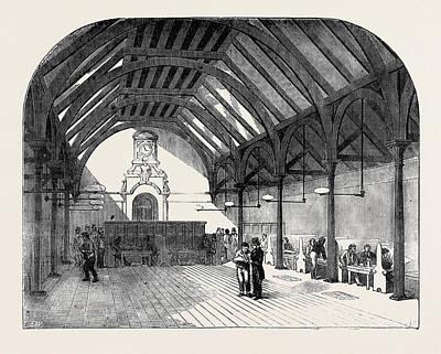 The Artizans Home, Spitalfields Art Print by English School
