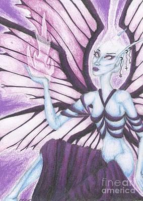 The Ascendant Art Print by Coriander  Shea