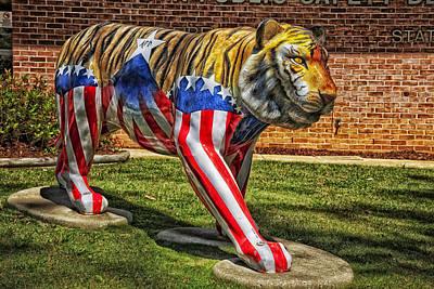 The Auburn Tiger Art Print by Mountain Dreams