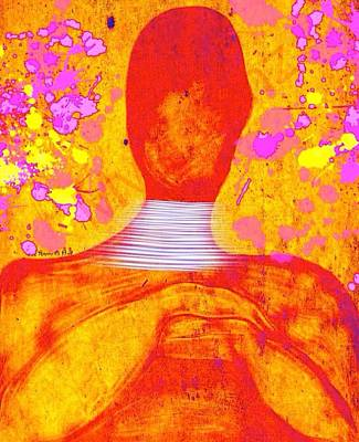 The Aura Art Print by Romaine Head