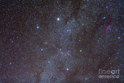 Photograph - The Auriga Constellation Showing Lanes by Alan Dyer