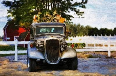 The Autumn Farm Art Print by Image Takers Photography LLC - Laura Morgan