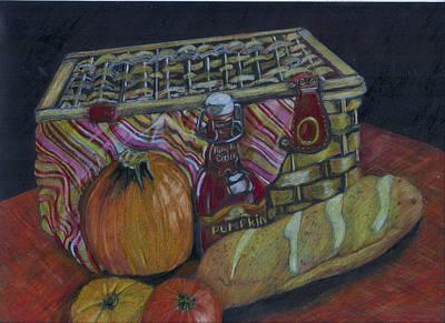The Autumn Picnic Art Print